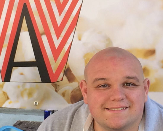 With help from family-run project InclusionWorks!, Asher has his own popcorn business.