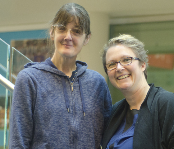 Fitness and friendship – Learn how Kellie-Ann Hart (left)stays healthy and connected by visiting her local recreation facilities in Coquitlam.