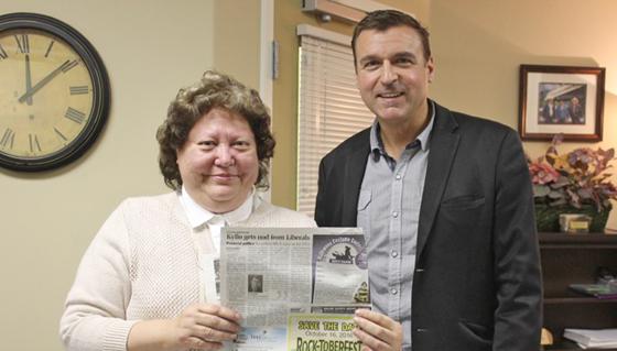 Ellen Zilkie.is an important part of the team working in Shuswap MLA Grego Kylo's office,