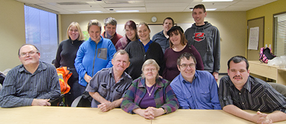 Thank you to Editorial Board founding members who have completed their terms. seated, left to right: Jerry Laidlaw, Cliff Stacey, Penny Soderena-Sutton, David Johnston, Krystian Shaw. standing, left to right: Tara Torme, Sheenagh Morrison, Michael McLellan, Tricia Lins, Shelley DeCoste, Shawn Spear, Jo-Anne Gauthier, Bryce Schaufelberger. (Not pictured: Shelley Marinus)