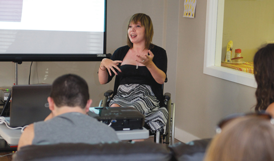 Kayla Finney challenges stereotypes about employees who have developmental disabilities.