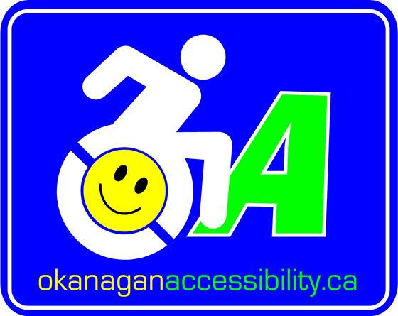 Okanagan Accessibility is a group that works to bring positive change in the Vernon community around accessibility.