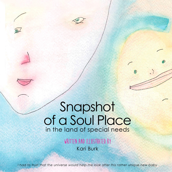 """Cover art of the book """"Snapshot of a Soul Place"""""""