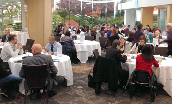 80 employers, government and community partners gathered at the third annual Employer Breakfast in Victoria to recognize inclusive employers and help educate other businesses to increase their diverse hiring practices.