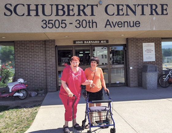 The Schubert Centre in Vernon offers accessible facilities for everyone in the community.