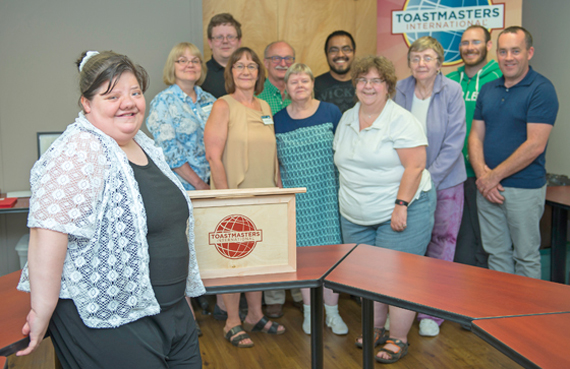 Finding my voice - Through Toastmasters, Ruth Stanton has gained speaking skills and confidence.