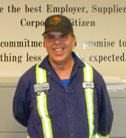 Ken has been working at Ocean Trailer for almost two years and has a variety of responsibilities around the office.